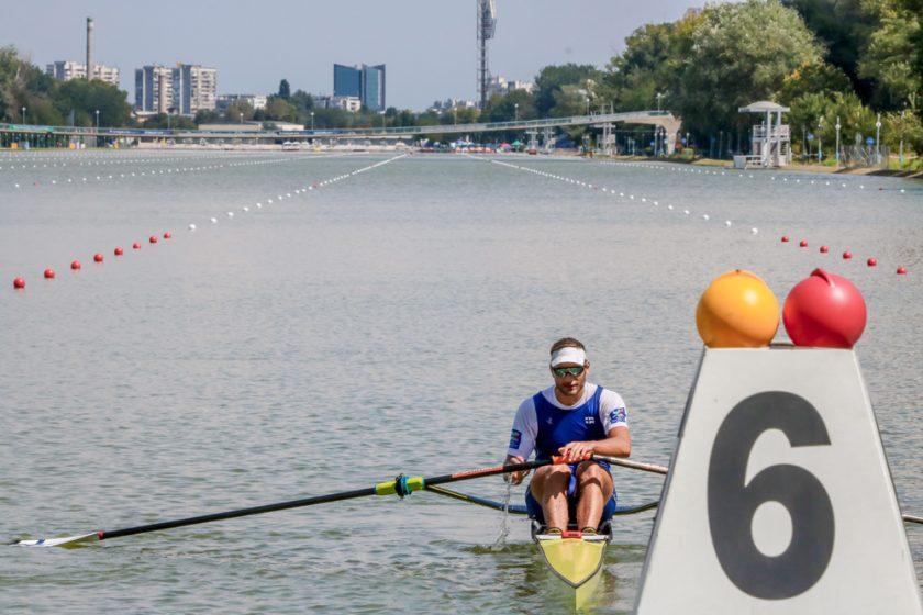 Olympiasoudun maailmancupista pronssia 12.5.2019 Plovdivissa Bulgariassa